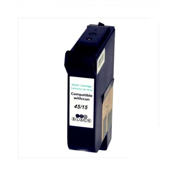 Tinteiro HP Compatível 51645AE Preto HP Compatível Consumíveis