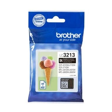 Tinteiro Brother LC3213BK Preto Brother Consumíveis