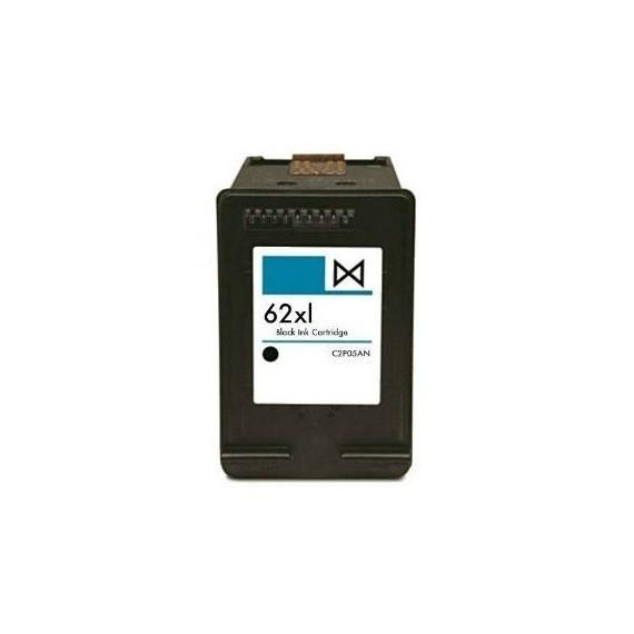 Tinteiro HP Compatível C2P05AE Nº62XLBK Preto (20 ml)