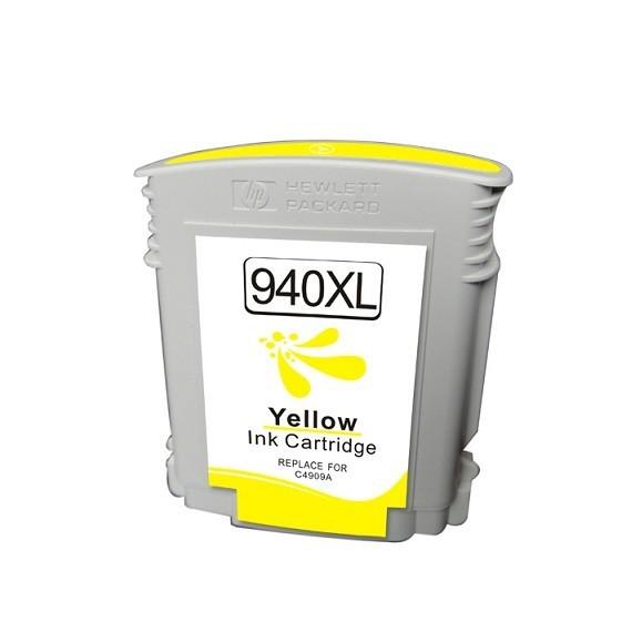 Tinteiro HP Compatível C4909AE Amarelo HP Compatível Consumíveis