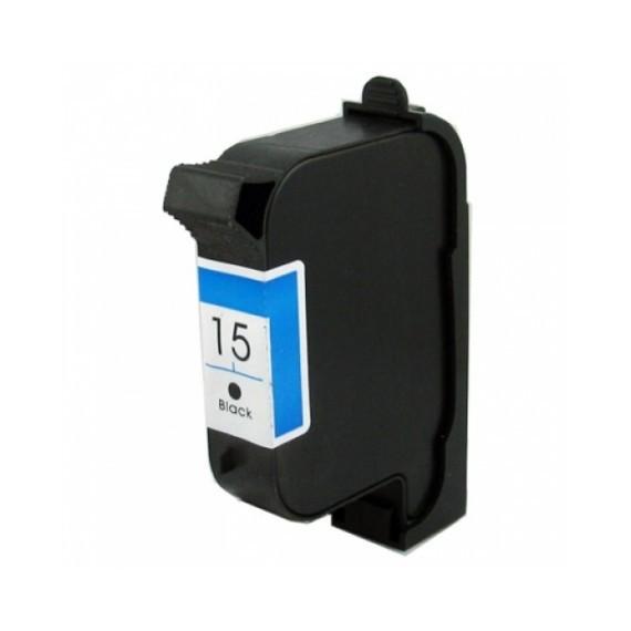 Tinteiro HP Compatível C6615DE Nº15 Preto (40 ml)