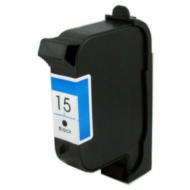 Tinteiro HP Compatível C6615DE Preto HP Compatível Consumíveis