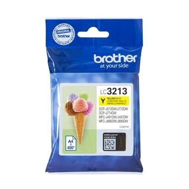 Tinteiro Brother LC3213Y Amarelo Brother Consumíveis