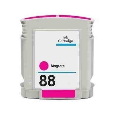 Tinteiro HP Compatível C9387AE/C9392AE Nº88XLM Magenta (24.6 ml)