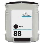 Tinteiro HP Compatível C9385AE/C9396AE Nº88XLBK Preto (72 ml)