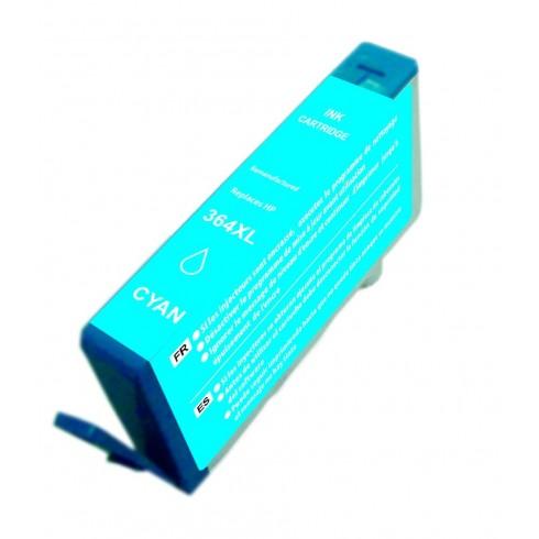 Tinteiro HP Compatível CB323EE Ciano HP Compatível Consumíveis