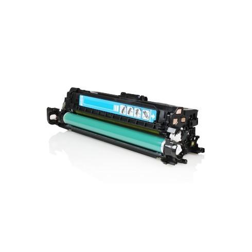 Toner HP Compatível CE251A Nº504A Ciano (7.000 Pág.)