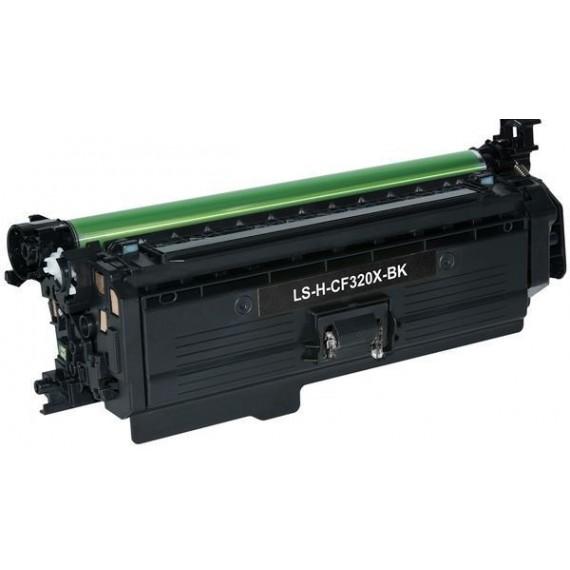 Toner HP Compatível CF320X/CF320A Nº652A Preto (11500 Pág.)