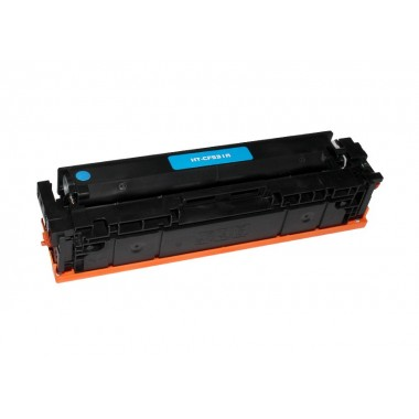 Toner HP Compatível CF531A Nº205A Azul (900 Pág.)