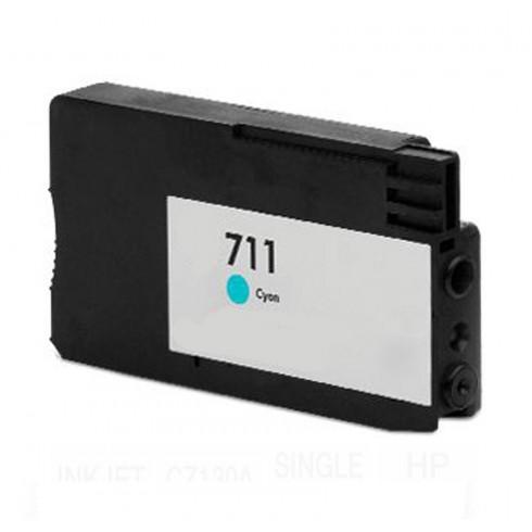 Tinteiro HP Compatível CZ130A Nº711 Ciano (26 ml)