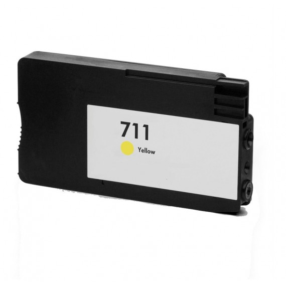 Tinteiro HP Compatível CZ132A Nº711 Amarelo (26 ml)