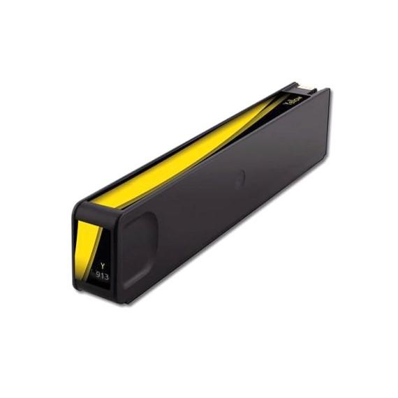 Tinteiro HP Compatível F6T79AE/F6T83AE Nº913A/Nº973X Amarelo