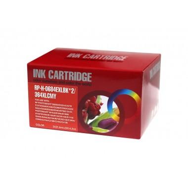 Tinteiro HP Compatível N9J74AE/N9J73AE 4-Color HP Compatível Consumíveis