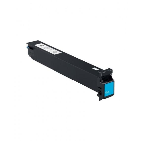 Toner Konica Compatível A0D7451 Ciano Konica Compatível Consumíveis