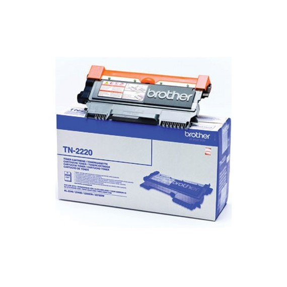 Toner Brother TN2220 Preto Brother Consumíveis