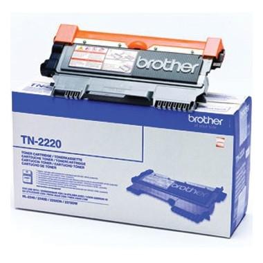 Toner Brother Original TN-2220 Preto (2600 Pág.)