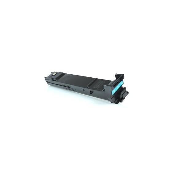 Toner Konica Compatível A0DK453 Ciano Konica Compatível Consumíveis