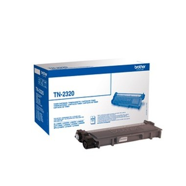 Toner Brother TN2320 Preto Brother Consumíveis
