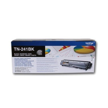 Toner Brother TN241BK Preto Brother Consumíveis