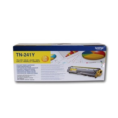 Toner Brother TN241Y Amarelo Brother Consumíveis