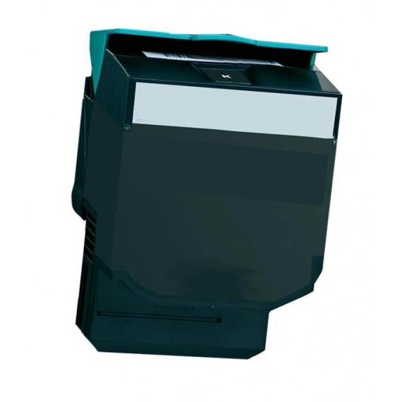 Toner Lexmark Compatível 80C2SK0/802SK Preto (2.500 Pág.)