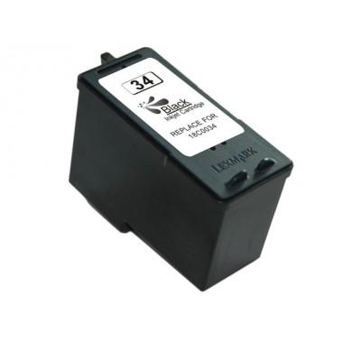Tinteiro Lexmark Compatível 18C0034 Nº34 Preto (21 ml)