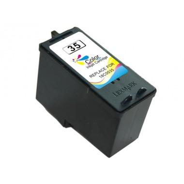Tinteiro Lexmark Compatível 18C0035 Nº35 3 Cores (15 ml)